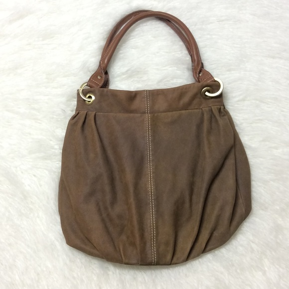 COLDWATER CREEK LEATHER HOBO BAG 4d5dbce6a56aa
